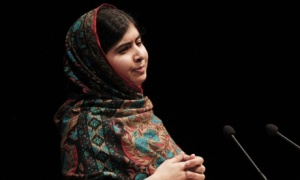 Nobel Peace Prize conference at the Library of Birmingham, Britain - 10 Oct 2014